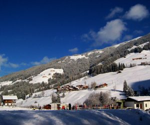 Skiing in Alpbach