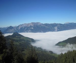 View Over Alpbach from the Weidersberger Horn